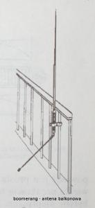 antena cb boomerang